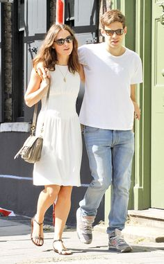 Keira Knightley & James Righton look as adorable as they did on their #wedding day while talking a stroll through London.