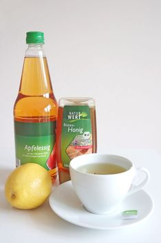 Clean eating Rezepte: Detox Tee mit Apfelessig für einen flachen Bauch