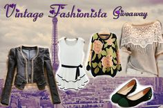Vintage Fashionista Giveaway