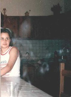Picture of ghost sister Little girl talks to her dead sister Ghosts Webcam Pictures Paranormal Website Haunted Houses Castles Weird Facts Top 100 best online Ghost Images, Ghost Pictures, Ghost Pics, Spooky Places, Haunted Places, Haunted Houses, Haunted Mansion, Paranormal Pictures, Ghost Sightings