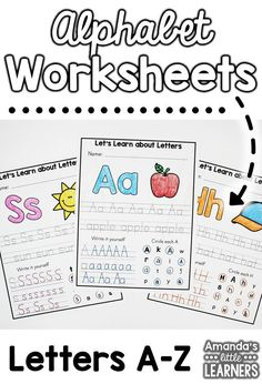 This product includes worksheets for all letters A-Z with fun activities for your students to practice each letter. Whether you use it as an intro to teach about each letter or as a review, your students are sure to love these letter pages! These worksheets work great as a warm up or as morning work!