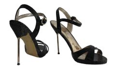 black metal heel