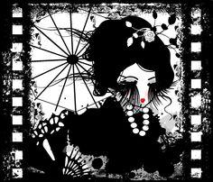 ARThive - ''Kimono Girl'' June 2012  www.alishahinds.com