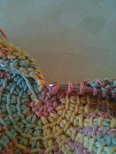Tunisian Knit Stitch In The Round : Tunisian crochet on Pinterest Tunisian Crochet, Tunisian Crochet Patterns a...