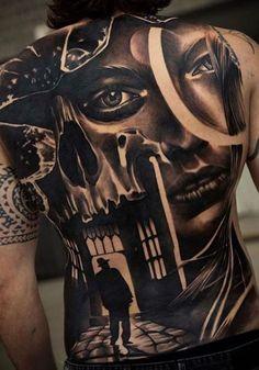 <<Check out the tattoos  #tattoomenow #tattooideas #tattoodesigns #back #fullback Back Tattoos For Guys, Full Back Tattoos, Lion Head Tattoos, I Tattoo, Costa, Tattoo Designs, Check, Men, Ideas