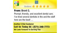 Prompt, friendly, and excellent dental care.  I've tried several dentists in the and the...