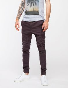Sureshot Chino Washed Black  // Zanerobe