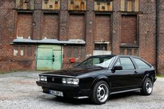 VW Scirocco  -  [ Had a black one like this ]