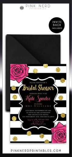 Hey i found this really awesome etsy listing at httpsetsy hey i found this really awesome etsy listing at httpsetsylisting201629307kate spade bridal shower invitation you may now kiss the bride 3 filmwisefo