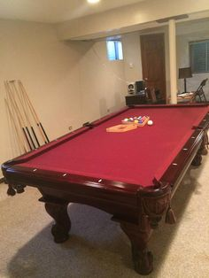 Richmond Handmade Snooker Table , Quality Slate Bed