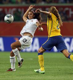 Alex Morgan USA vs Sweden