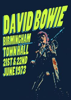 david bowie,the wonderful british multi musician. Angela Bowie, Pop Posters, Band Posters, Music Covers, Album Covers, David Bowie Poster, Music Flyer, Rock Festivals, Vintage Rock