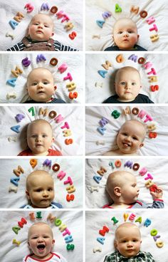 Baby Month Photography