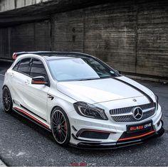 AMG what are your thoughts . Mercedes Hatchback, Mercedes Car Models, Mercedes A45 Amg, Mercedes Benz Cars, Sports Cars Lamborghini, Lamborghini Gallardo, Subaru Legacy Gt, Bmw Motors, Benz A Class