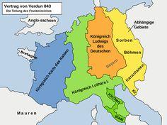 Treaty of Verdun - Heiliges Römisches Reich – Wikipedia