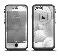 The Golf Ball Overlay Apple iPhone 6/6s Plus LifeProof Fre Case Skin Set from DesignSkinz