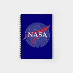 Vintage Space Logo Spiral Notebook by Scar Design   #astronaut #spaceagency #spacemission #vintage #retro notebook #backtoschool #notebooks #spiralnotebook #study #homeschool #homeschooled #TeePublic Vintage Space, All Things Cute, Family Gifts, Astronaut, Xmas Gifts, Notebooks, Spiral, Fathers Day, Back To School