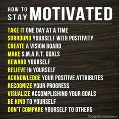 Lacking in motivation? Try some of these tips! Need more help, contact us today