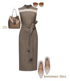"""Workwear Chic"" by captainsilly ❤ liked on Polyvore featuring Lattori, Kurt Geiger, Chrysalis, MANGO and STELLA McCARTNEY"