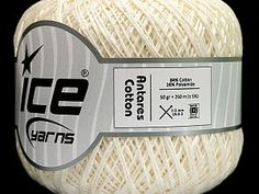 Antares Cotton Cream  Fiber Content 84% Cotton, 16% Polyamide, Brand Ice Yarns, Cream, Yarn Thickness 1 SuperFine  Sock, Fingering, Baby, fnt2-50269 Ice Cotton, Ice Yarns, Knitting Wool, White Brand, Serum, Round Sunglasses, Fiber, Spring Summer, Ebay