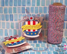 DT Millie @ Twine It Up! by Annie's Paper Boutique sharing some yummy treats featuring Stars & Stripes Trendy Twine, Wee Glassine Envelopes, Kraft Tags with Metal Rim and  Trendy Page Dots from Annie's Paper Boutique. http://shop.anniespaperboutique.com/main.sc