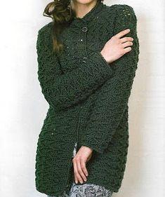 Patrones de Tejido Gratis - Saco (crochet)