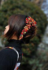 Kanzashi | Flickr - Photo Sharing!