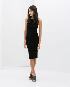 Image 1 of OPEN BACK DRESS WITH METAL COLLAR from Zara