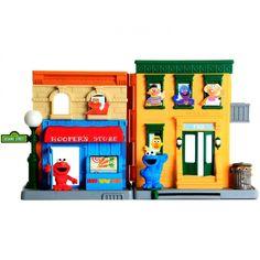 Sesame Street Neighbourhood Playset   Kids Cool Toys UK