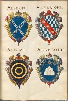 Insignia Florentinorum - BSB Cod.icon. 277, [S.l.] Italian, 1550-1555…