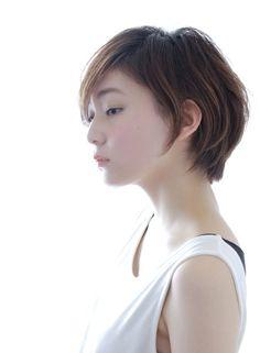 ☆大人のナチュラルショートヘア☆の髪型 - StylistD