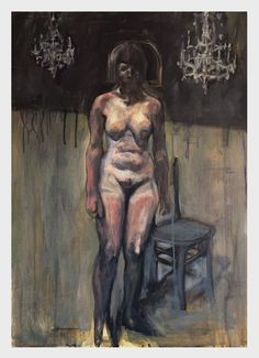 """""""Ballroom"""", acrylic on canvas, 2017 by  Marco Bellotto"""
