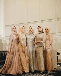 Hijab Prom Dress, Hijab Gown, Kebaya Hijab, Hijab Style Dress, Abaya Style, Dress Outfits, Modern Hijab Fashion, Hijab Fashion Inspiration, Muslim Fashion