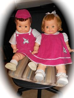 Baby Dear-One and  Bobby Dear-One Repro Clothing Sets  DOLLS NOT INCLUDED #DenisesVintageDesigns #DollClothes