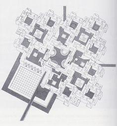 Aldo Van Eyck : Design for Pestalozzi Village, 1962