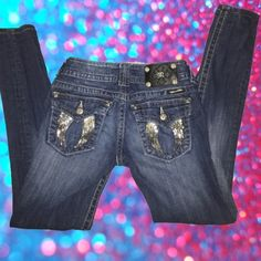 Miss Me Skinny Jeans •Size: 25 W 28 L •Times Worn: 1 •Open to Trade: No <<SAME day or NEXT day shipping!>> ~Make me an offer negotiable price.~ Miss Me Jeans Skinny