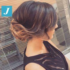 Glam chic _ Degradé Joelle  #cdj #degradejoelle #tagliopuntearia #degradé #igers #musthave #hair #hairstyle #haircolour #longhair #ootd #hairfashion #madeinitaly #wellastudionyc