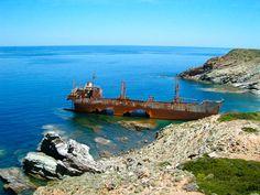 Shipwreck Semiramis Andros Cyclades