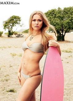 Ronda Rousey looking a little different.
