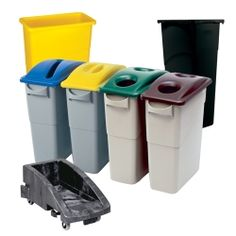 Recycle Bins For Home Pleasing Four Slim Recycling Bins  Google Search  Home—Organization Design Inspiration