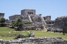 Mayan Ruins of Tulum near Cozumel