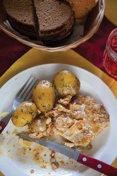 Karbonāde (Pork Cutlets With Chanterelle Cream Sauce) Recipe | SAVEUR