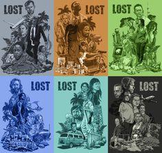 LOST- all six seasons