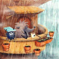 Душевные иллюстрации | арт, искусство Hedgehog Drawing, Hedgehog Art, Kawaii Doodles, Fairytale Art, Happy Art, Marker Art, Illustrations And Posters, Acrylic Art, Cute Illustration