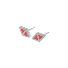 Triangle+deux+stud+earrings, £53.00