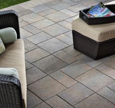 Belgard Cataline Stone Patio YORKTOWN MATERIALS PINTEREST INSPIRATION The Catalina™ collection's crisp, clean lines and smooth, linear surface create a contemporary feel that's both eye-pleasing and comfortable. Perfect for high-traffic areas, Catalina is fully ADA compliant. The modular system offers superb design and flexibility and ease of installation, with a multitude of possible laying patterns.