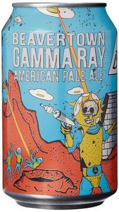 Beavertown Brewery Gamma Ray 12 Can Case Beer Craft Beer Brands, Craft Beer Labels, Beer Can Art, Beer Art, Energy Drinks, Artisan Beer, Beer Images, Brewery Logos, Pale Ale Beers