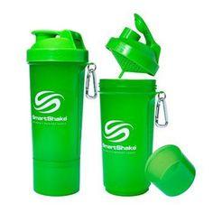 Smartshake Bottle Slim Neon Green 17 oz 1 Count