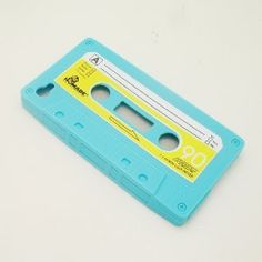 Amazon.com: Light Blue Retro Cassette Tape Soft Silicone Back Cover Case For iPhone 4G 4S: Cell Phones & Accessories