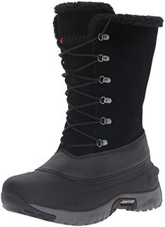 Baffin Womens Hannah Snow Boot Black 8 M US >>> Details can be found by clicking on the image.